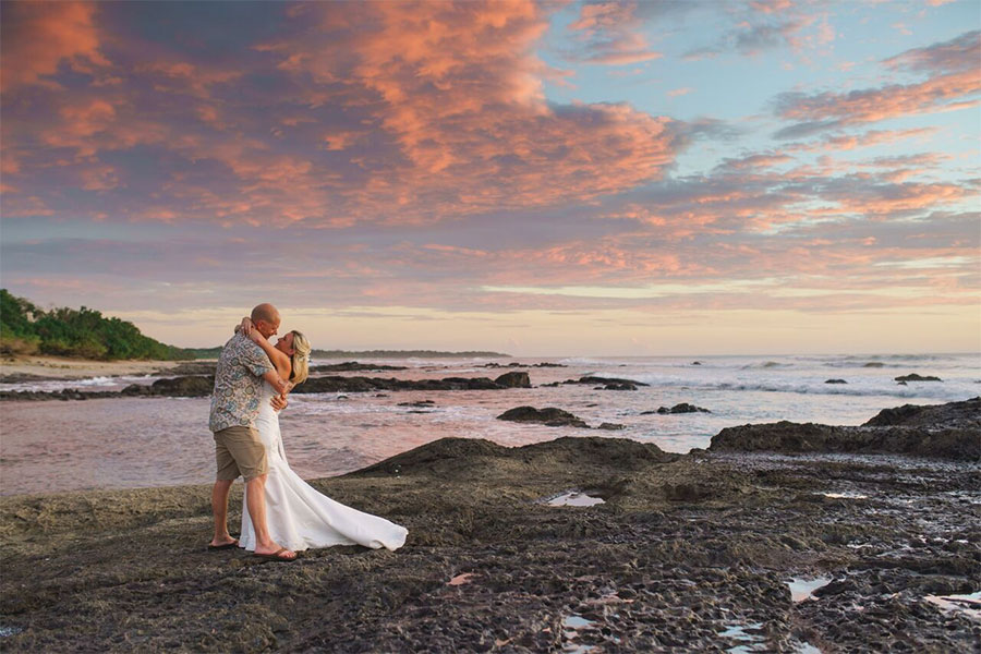 Costa rica luxury wedding