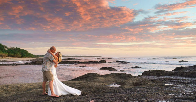 Destination Wedding Cost is Lower for a Costa Rica Wedding