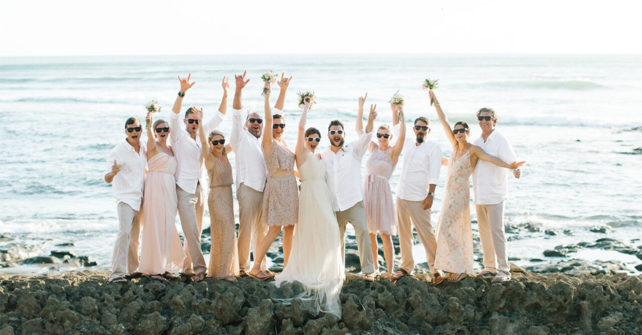 Wedding in Costa Rica Saves Money and Time