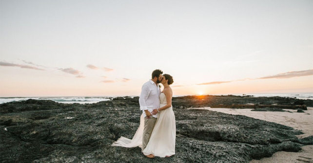 Costa Rica Luxury Wedding on Private Beach of Pacific Ocean