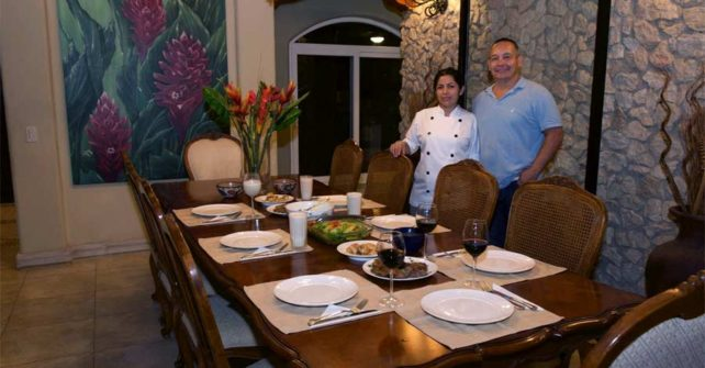 Costa Rica Villa Rental with Chef next to Playa Tamarindo